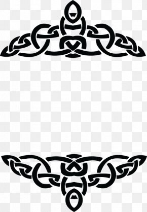 Christian Cross - Clip Art Borders And Frames Celts Openclipart Celtic Art PNG