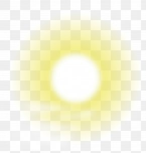 Sun Halo Vector Material - Light Sky Yellow Circle Pattern PNG