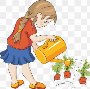 Watering Cliparts - Watering Can Plant Garden Seed Clip Art PNG