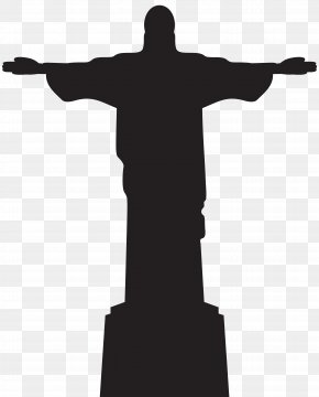 Jesus Christ Statue Silhouette Clip Art - Christ The Redeemer Corcovado Statue PNG