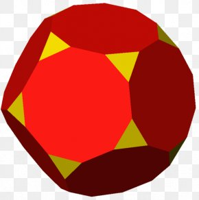 Face - Truncated Dodecahedron Regular Dodecahedron Truncation Face PNG