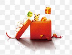 Gift - Gift Santa Claus Box PNG