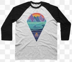 Mount Sanqingshan Native Products - T-shirt Raglan Sleeve Hoodie Top PNG