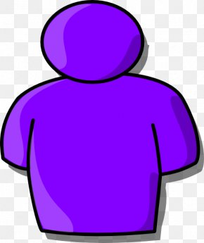 Purple People Cliparts - Person Free Content Clip Art PNG
