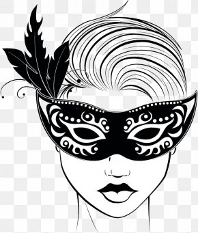 Wearing A Mask Of The Ladies - Stock Photography Royalty-free Clip Art PNG