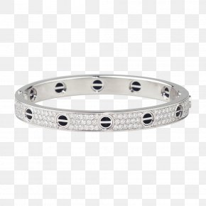 Jewellery - Love Bracelet Cartier Jewellery Diamond PNG