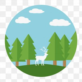 Atelier Vector - Vector Graphics Forest Image Illustration PNG