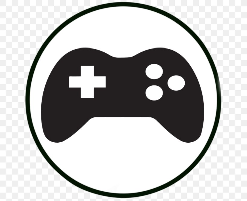 Video Games Vector Graphics Game Controllers Clip Art Png 666x668px Video Games Area Black Black And