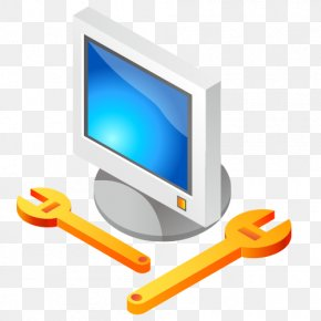 LCD Computer Vector Material - Computer PNG