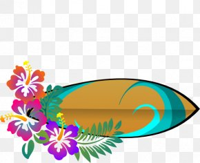 Surfer Cliparts - Cuisine Of Hawaii Flower Clip Art PNG