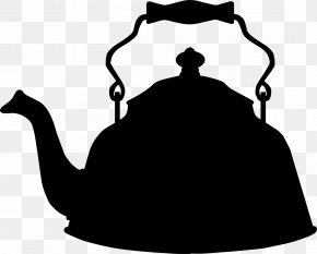Chinese Tea - Teapot Teacup Silhouette Clip Art PNG