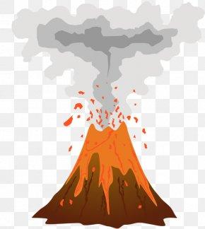 Volcano Eruption - Mount Etna Volcano Mountain Lava Xc9ruption Volcanique PNG