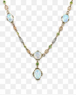 Necklace - Earring Turquoise Necklace Jewellery Gold PNG