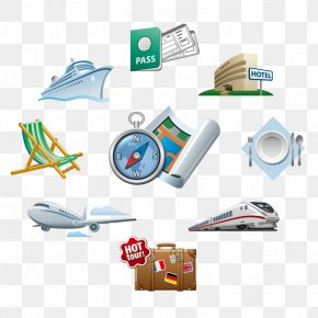 Travel Icon Design Material - Travel Icon PNG