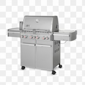 Barbecue - Barbecue Weber Summit S-670 Weber-Stephen Products Natural Gas Grilling PNG