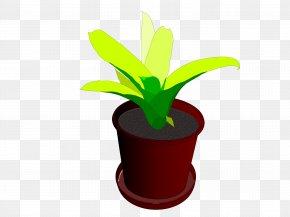 Pot Leaf - Houseplant Flowerpot Clip Art PNG