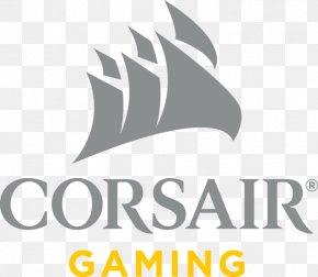 Corsair Pattern - Corsair Components Logo Video Games Desktop Wallpaper PNG
