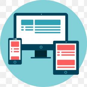Web Design - Responsive Web Design Web Development Handheld Devices Mobile Phones PNG