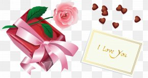 Valentine Gift PNG Clipart - Still Life: Pink Roses Valentine's Day Clip Art PNG