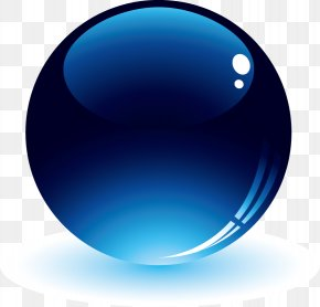Spherical Crystal Button - Sphere Button Download PNG