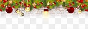 Christmas Decoration - Christmas Decoration Christmas Ornament Santa Claus Gift PNG