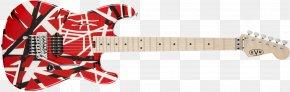 Electric Guitar - Fender Stratocaster Guitar Frankenstrat Floyd Rose Musical Instruments PNG
