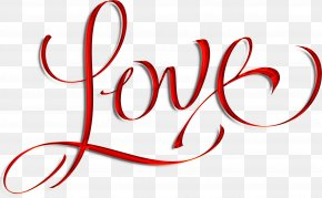 Love Text - Love Calligraphy Lettering Royalty-free PNG