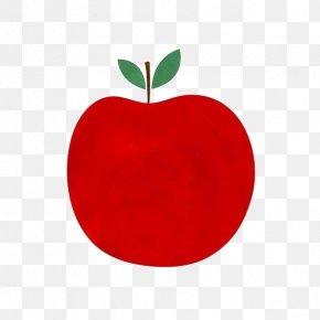 Cartoon Retro Apple - Apple Cartoon PNG