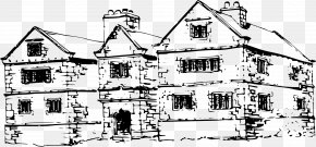 House - Manor House Building Clip Art PNG