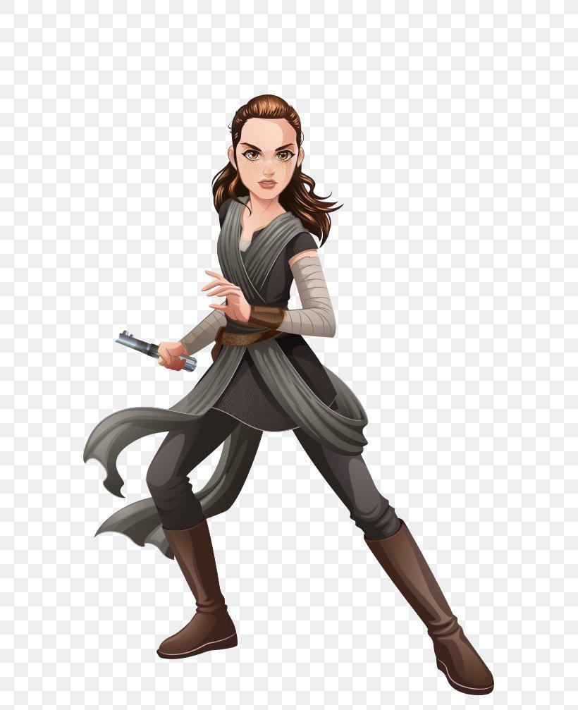 2017 Star Wars Forces of Destiny Rey of Jakku The Force Awakens