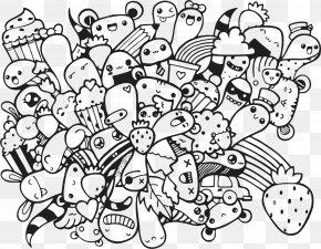 Doodle Art Coloring Pages Vexx