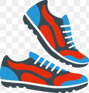 Vector Running Shoes - Sneakers Shoe PNG