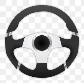 Driving Image - Car Steering Wheel Clip Art PNG