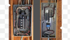 Professional Electrician - Distribution Board Electrical Wires & Cable Circuit Breaker Electricity Wiring Diagram PNG