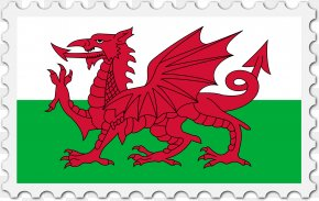 Flag Of Wales - Flag Of Wales Welsh Dragon National Flag PNG