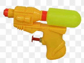 A Water Gun - Water Gun Toy Plastic Firearm PNG