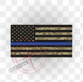 United States - Flag Of The United States Thin Blue Line The Thin Red Line PNG