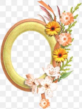Gold Flower Frame Transparent Background - Picture Frame Image File Formats Clip Art PNG