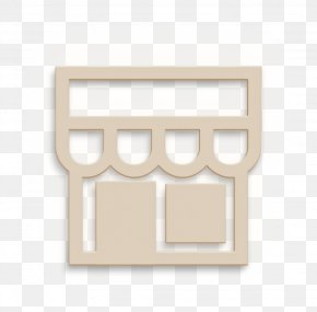 Paper Product Beige - Shop Icon PNG