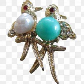 Jewellery - Turquoise Earring Body Jewellery Brooch PNG