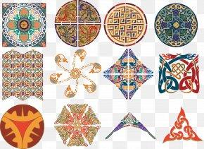 Vector Islamic Pattern - Celts Islamic Art PNG