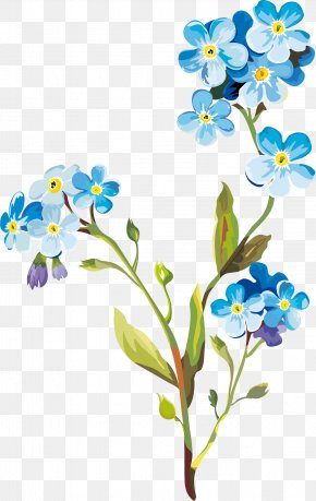 Spring Flowers - Flower Drawing Clip Art PNG