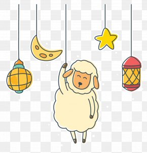 Sheep Cartoon Vector - Sheep Cartoon PNG