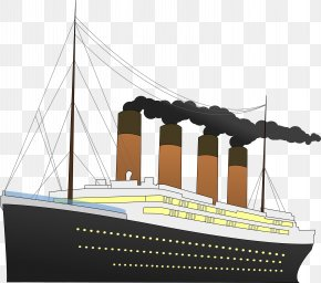 Much-Appreciated Cliparts - Sinking Of The RMS Titanic Ship Clip Art PNG