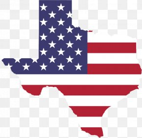 American Flag - Flag Of Texas Flag Of The United States Clip Art PNG