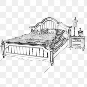Bed - Bed Frame PNG