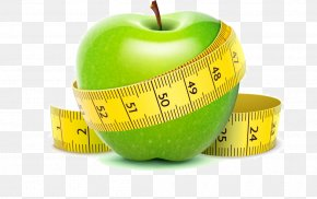 Healthy Weight-loss Diet Apple - Weight Loss Weight Management Dieting Physical Exercise PNG
