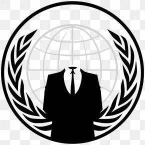 Anonymous Mask - Anonymous Logo Security Hacker PNG