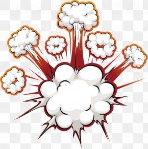 Bomb Blast Effect - Comics Explosion Speech Balloon PNG