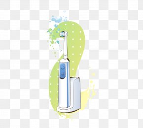 Electric Toothbrush - Electric Toothbrush Borste Wasp Cartoon PNG